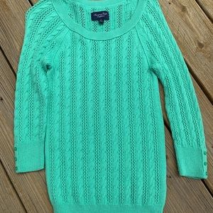 Green American Eagle sweater size S